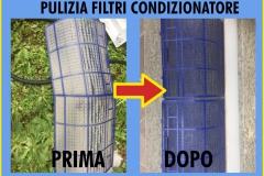 Pulizia filtri condizionatore | abitazione Vecchiano (PI)
