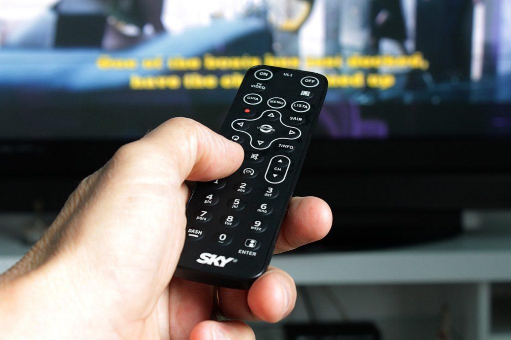 Telecomando impianto televisivo abitazione